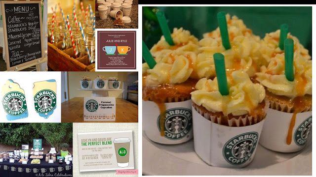 COFFEE BRIDAL SHOWERS | Bridal Shower Theme: Starbucks/Coffee Inspired