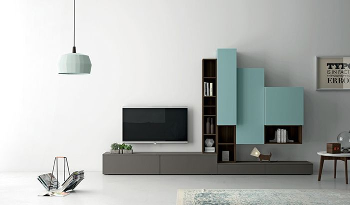 Nuvola: TV kast op maat voorbeelden