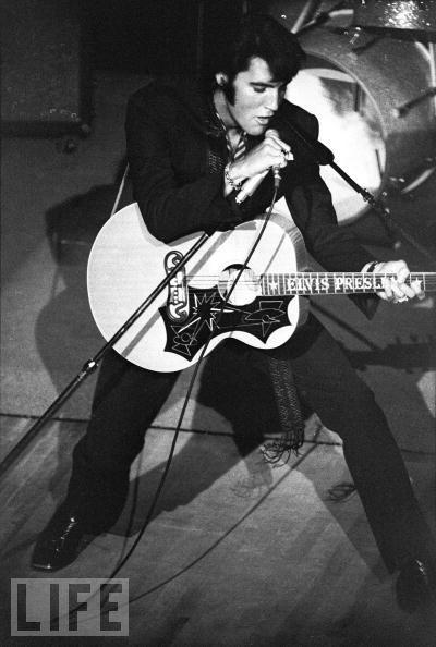 COVER OF LIFE MAGAZINE: Elvis 1969