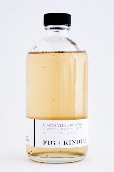 minimal #syrup #lemon #herb #cocktail