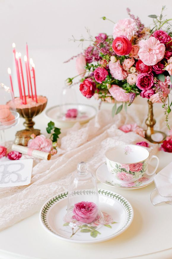 Annabella Charles & Haute Horticulture DIY Valentine's Day shoot. Gorgeous! via Magnolia Rouge
