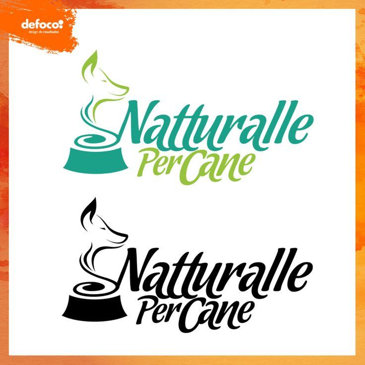 Logo desenvolvido pela Defoco para a empresa de alimentos para cães Natturalle Per Cane