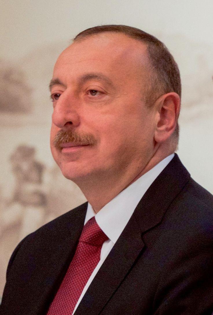 5/28/2017 AZERBAIJAN: Ilham Aliyev (B: 12/24/1961) is the 4th current President of Azerbaijan in office since 2003. Wikipedia.