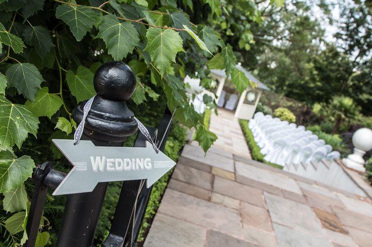 Tabor Group - Warwick House   Outdoor wedding area