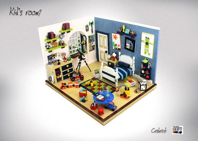 Kid's room   by Cesbrick