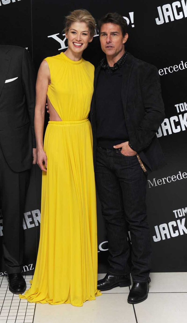 Tom Cruise And Rosamund Pike At The