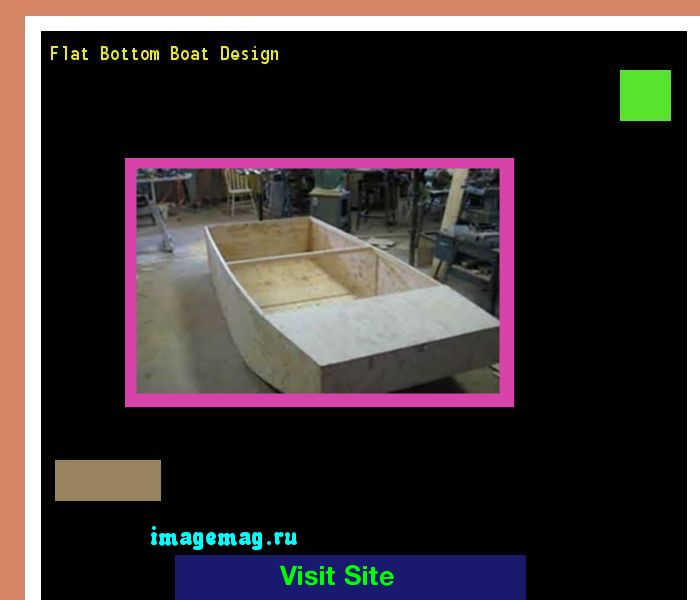 Flat Bottom Boat Design 210401 - The Best Image Search