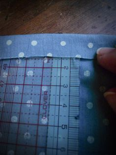 Astuce couture : faire des ourlets impecables « Made with Love
