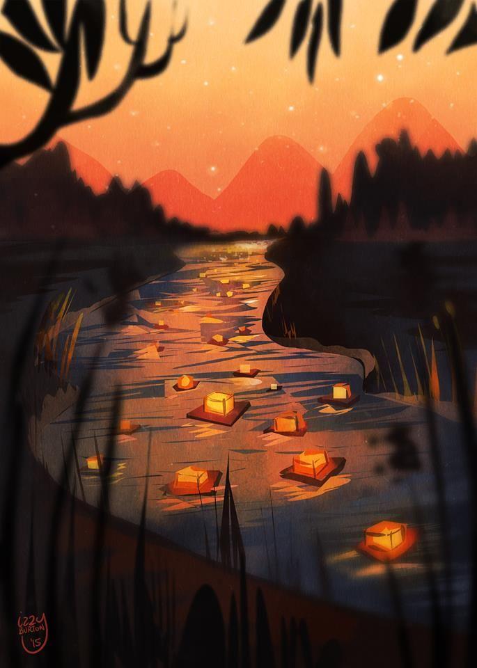 """River Festival"" by Izzy Burton"