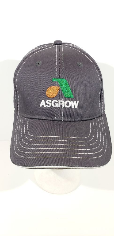 99c72f7129 ASGROW Soybean Farm Seed Agriculture Advertising HAT CAP #fashion ...