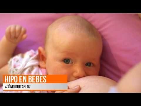 Cómo quitar el hipo en bebés - YouTube
