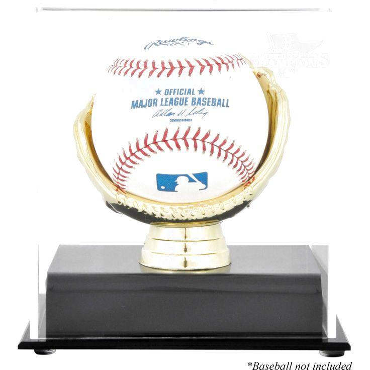 Boston Red Sox Fanatics Authentic 2013 MLB World Series Champions Gold Glove Baseball Display Case - $29.99