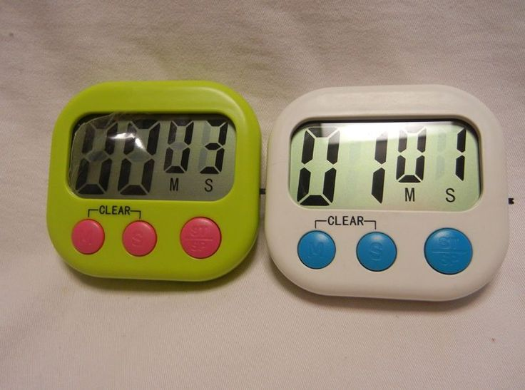 1Pc Kitchen Gadget Tools Digital Display Cooking Count Up /Down Timer Clock