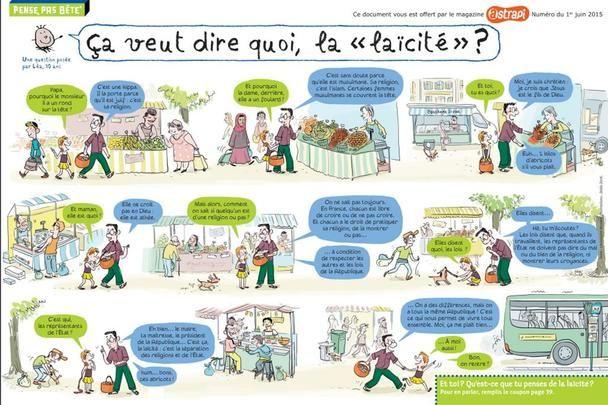 9 décembre : journée de la laïcité - Le Cartable des Loulous
