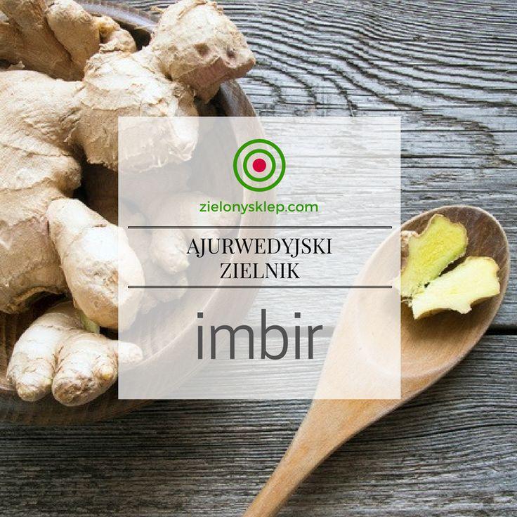poznaj właściwości Imbiru na naszym blogu! blog.zielonysklep.com