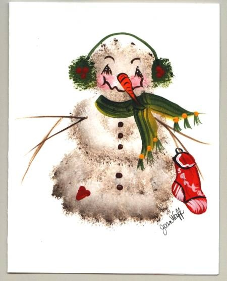 One Stroke Painting Class - Seasonal Holidays:   Students learn bunnies, heart wreaths, patriotic wreaths, flags, cornucopia, pumpkins, snowmen, Santa, bears, holiday trees, holiday wreaths, poinsettias, hollies, as well as holiday cats and dogs. Class fee:  $20.00 jwaff@tampabay.rr.com  Class info: http://www.picturetrail.com/joanwaff