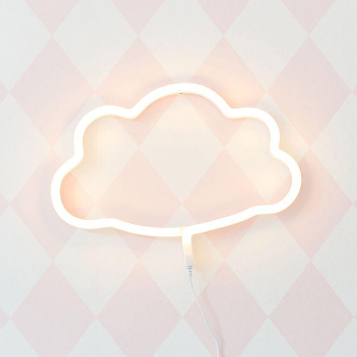 Neon light Cloud - Livingdesign https://www.livingdesign.be/nl/merken/a-little-lovely-company