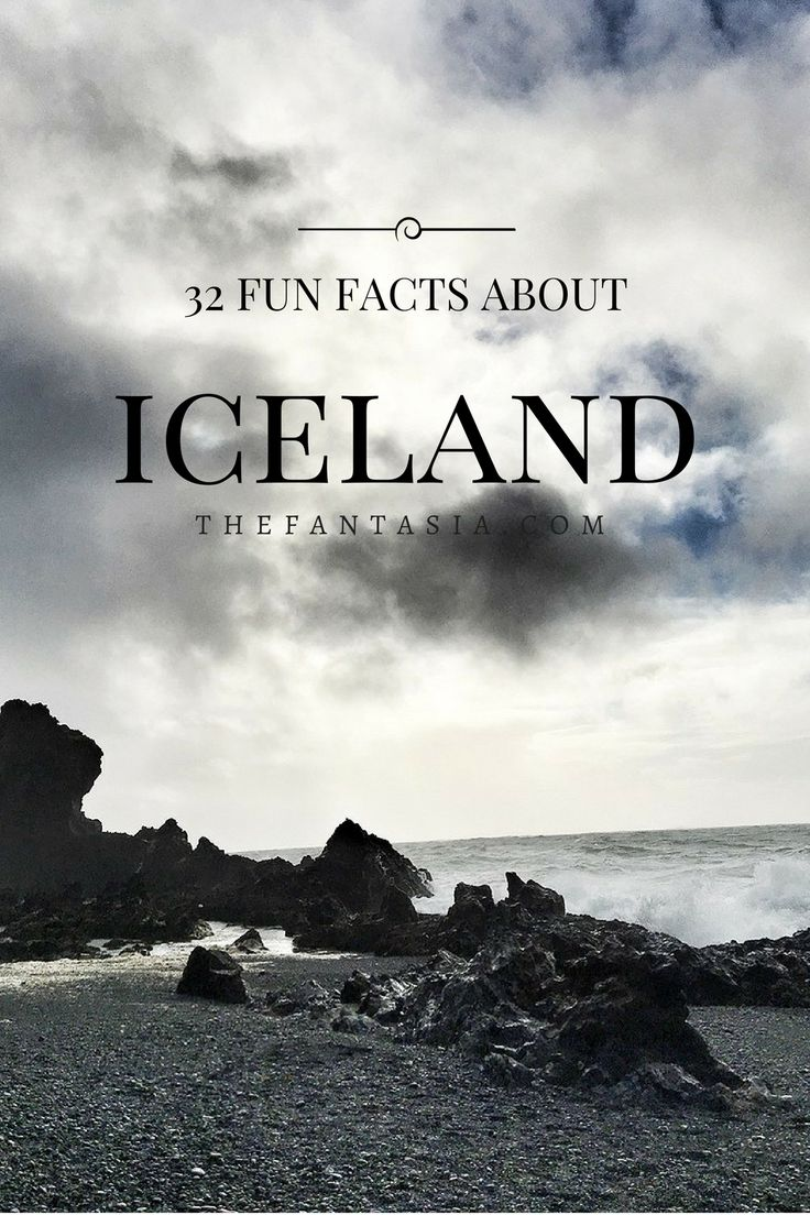 Here are a few fun facts about Iceland – The Land of Ice and Fire as told by our tour guide who looks and has the same sense of humour as James Corden. For context, there are about 333K people in Iceland – keep this in mind as you read through these fun facts. The...Read the Post