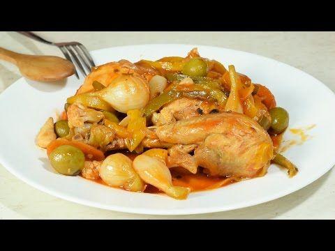 (63) Pollo en Escabeche a mi Estilo NUNCA Visto!!!!!!!!!!! - YouTube