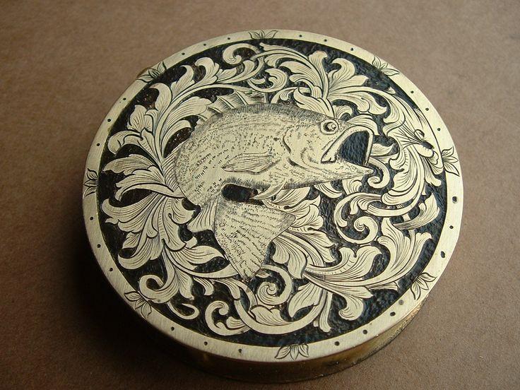 Hand Engraving Silver Bracelet
