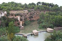 El río Mijares (Millars en valencià) es un río de la Península Ibérica que nace en la Sierra de Gúdar en el término municipal de El Castellar (provincia de Teruel), de la unión de diversos ríos a unos 1600 metros de altitud y que desemboca entre los términos de Almazora y Burriana, en la provincia de Castellón, tras 156 km de recorrido.