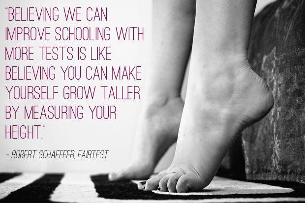 Robert Schaeffer, FairTest: Image: Creative Commons/Mimoza291