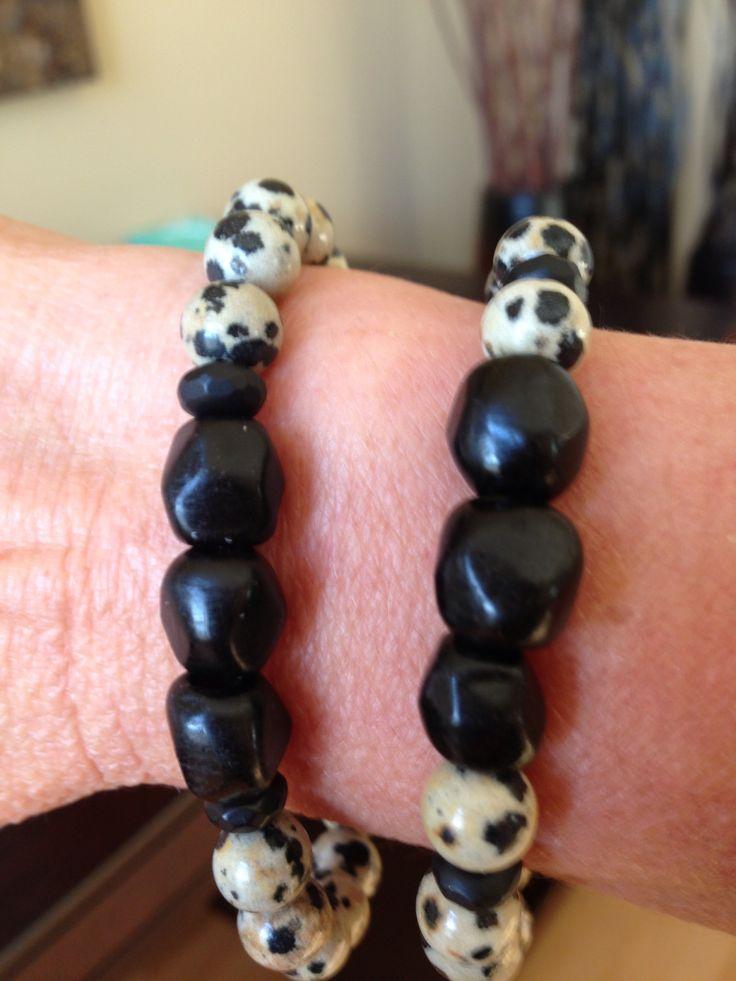 TGT creation.  Dalmatian beads