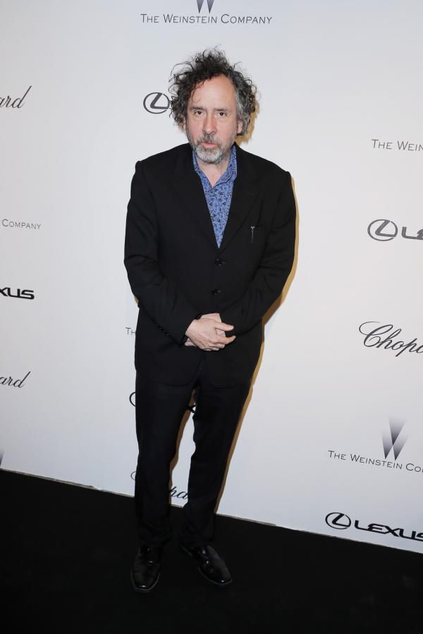 Tim Burton at The Weinstein Company Party in Cannes  Ufficio stampa Chopard