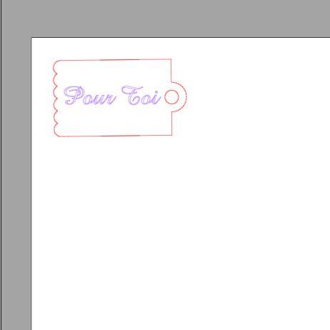 Fichier sst ** tag pour toi ** pour silhouette studio cameo
