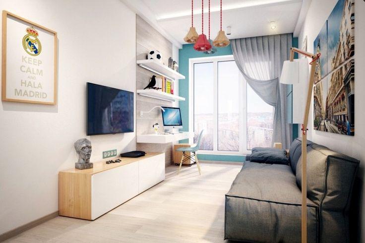 Спальни для подростков: креативный подход - Фото Дизайн интерьера