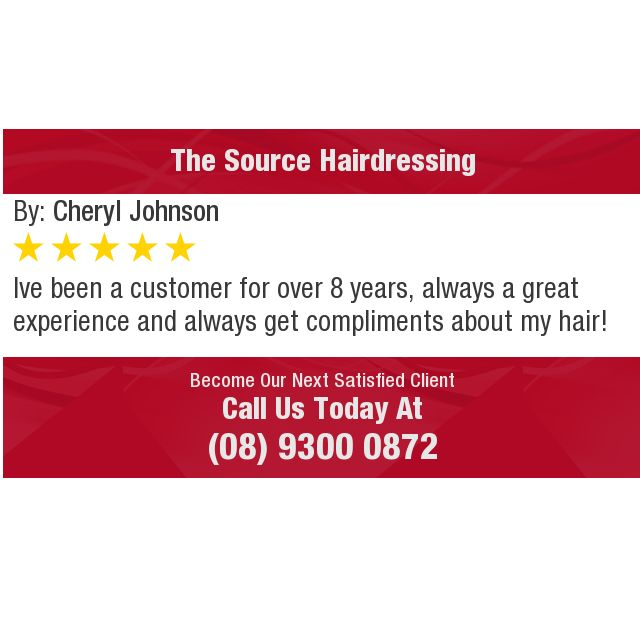 Ive been a customer for over 8 years, always a great experience and always get compliments...