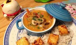 Heerlijke vegetarische Thaise rode curry | Wessalicious