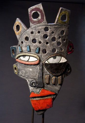 Fourth grade students learned about a contemporary African American Georgia artist named Kimmy Cantrall. They loved seeing his masks and bus...