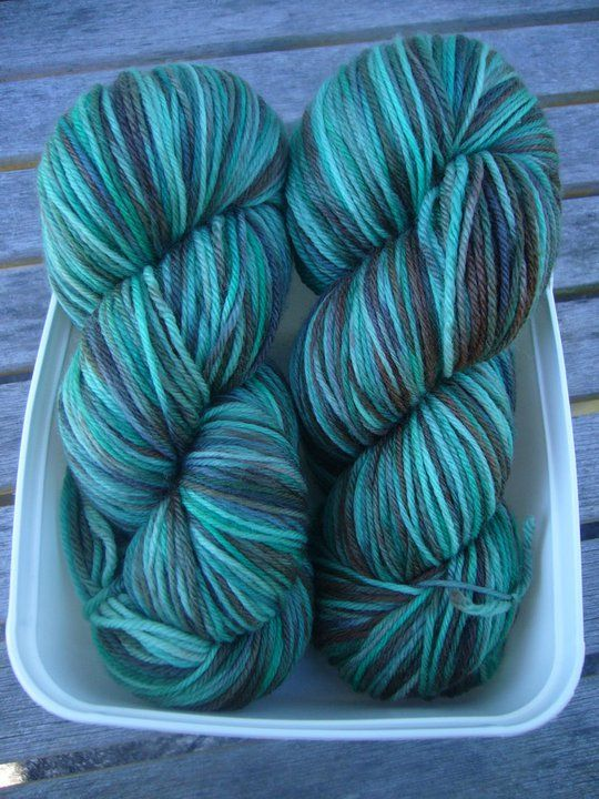 Mint Choc Chip - Ice Cream Flavours | Red Riding Hood Yarns