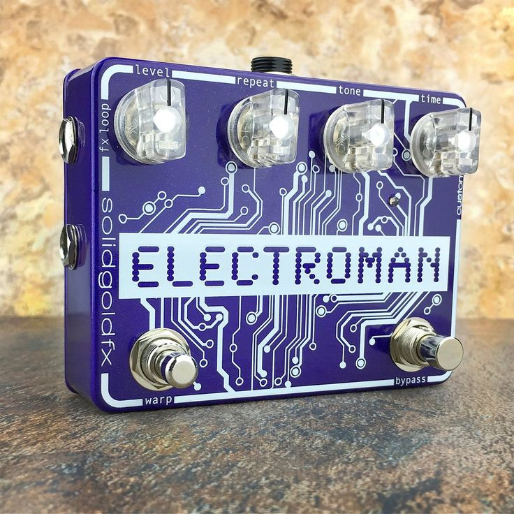 Electroman - Custom Shop Electro Purple