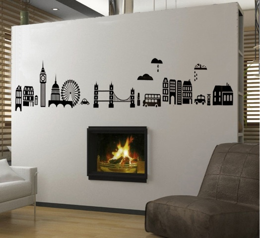 44 Best Images About London Wall Stickers & Decals On Pinterest