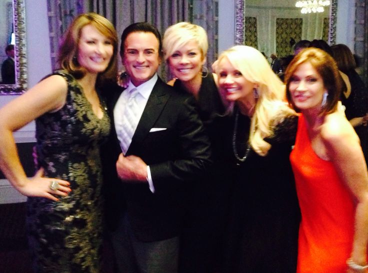 Colleen Lopez,  Bill Green,  Callie Northagen, Connie Craig Caroll and Alyce Caron all HSN Hosts celebrating their milestone anniversaries
