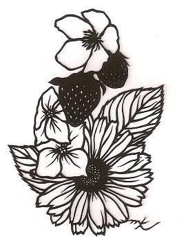 デザインフェスタ : 切り絵作家gardenの日記gardening