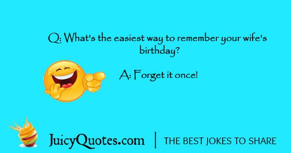 Funny Birthday Joke - 1