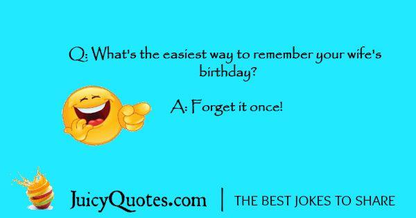 Funny Birthday Joke - 1