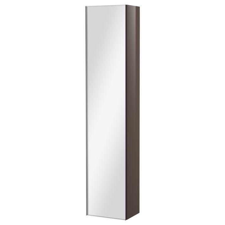 GODMORGON Armoire avec porte miroir - blanc - IKEA