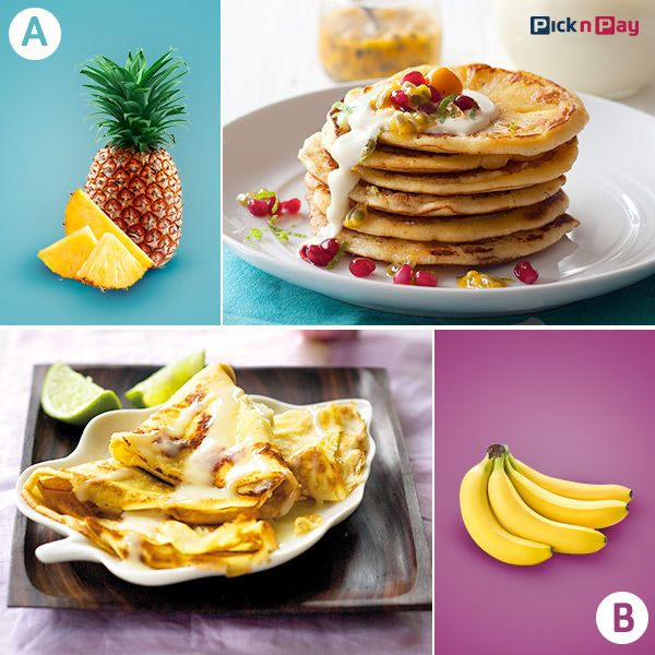 http://www.picknpay.co.za/recipe-search-results/pineapple-crumpets http://www.picknpay.co.za/recipe-search-results/thai-banana-pancakes-with-condensed-milk #pancakeday #PnP #freshliving
