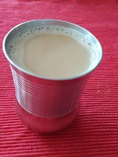 MY ASIAN RECIPE: TEH TARIK. Made of black tea, condensed / evaporat...