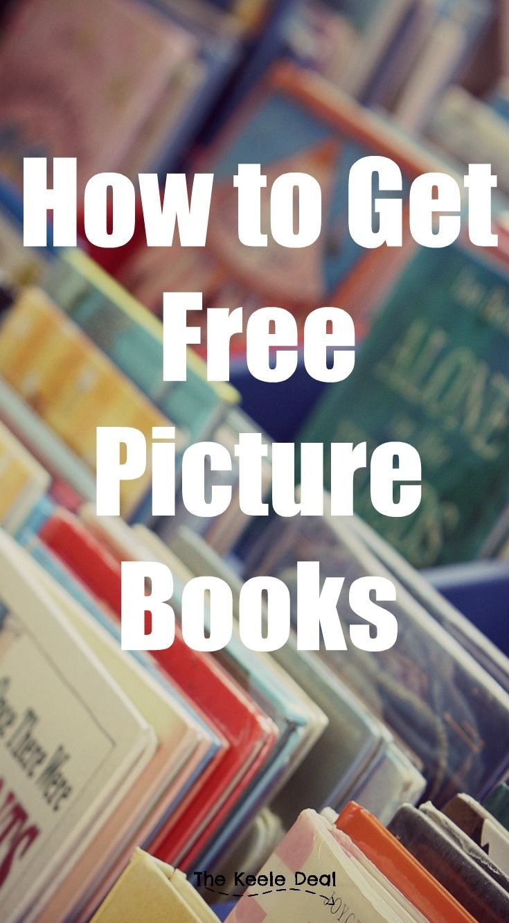 How to Get Free Picture Books by attending story time with your kids. This is a great activity for toddlers especially during the colder months. thekeeledeal.com