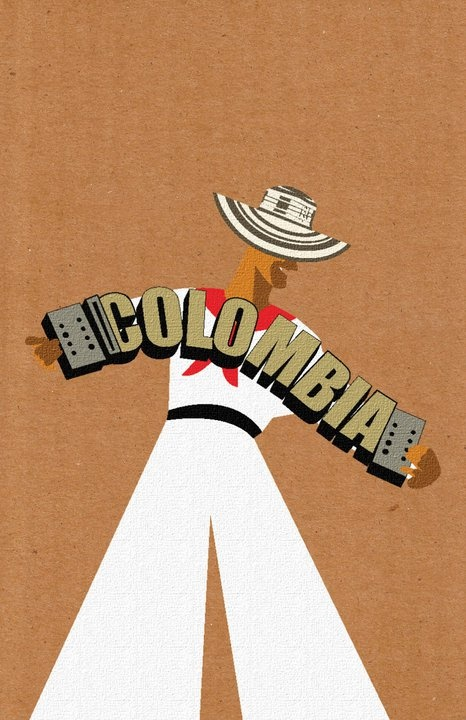 Colombia Acordion- Something like this for the logo!