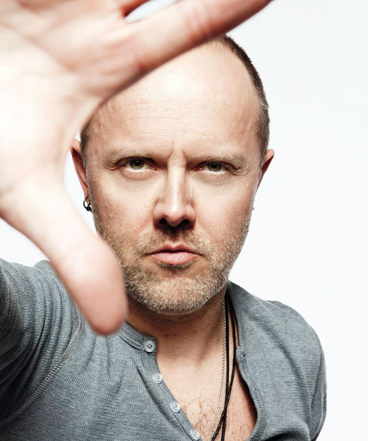 Lars Ulrich : Bald Men of Style...oh..my..just something about..him..love it..yes he is pinned