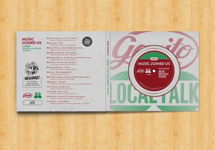 Alberto Ojeda | Diseño Gráfico, Ilustración, Apps y Web en Palma de Mallorca | GARITO CAFÉ DIGIPACK - Diseño de CD Digipack