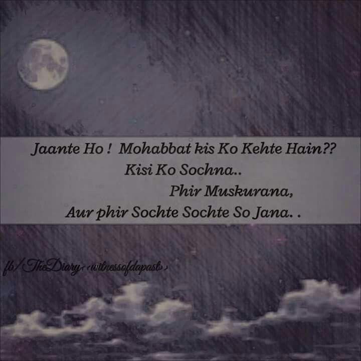 Mohabbat 42 best Hindi romantic shayari images