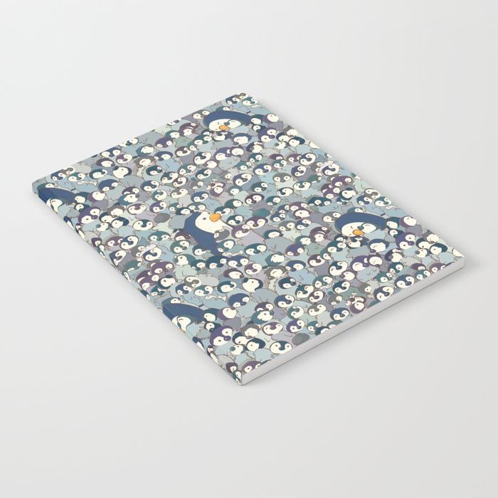 Buy Baby Penguin Pattern Notebook by strijkdesign. Worldwide shipping available at Society6.com. Just one of millions of high quality products available.