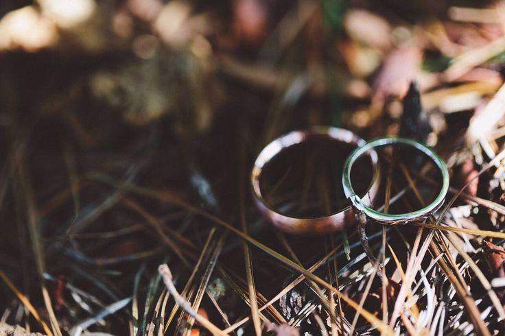 #rosegold #whitegold #weddingbands